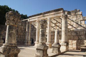 Pozostałości synagogi w Kafarnaum (fot. T. Kusz)